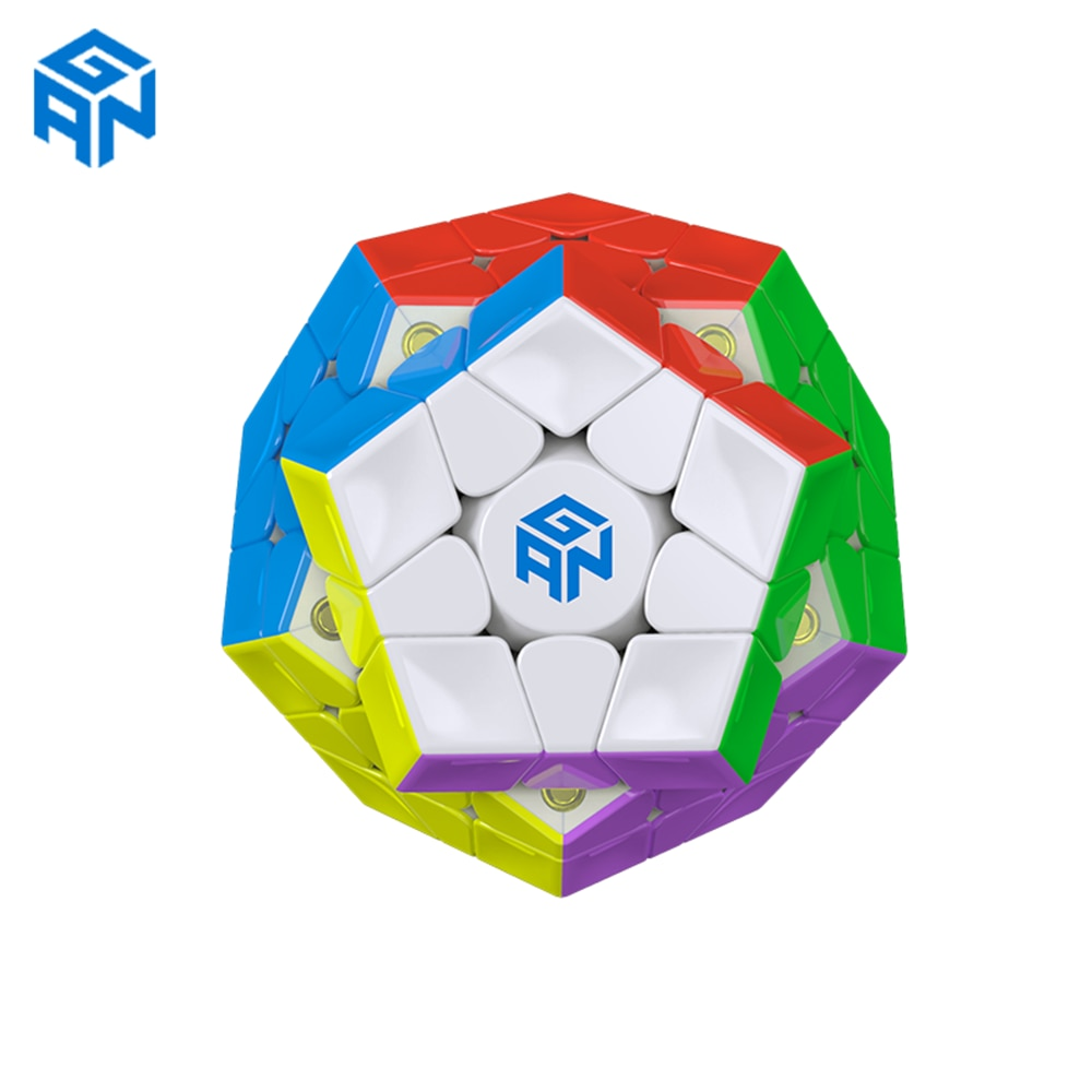 gan 365 air sm 3x3x3 speed cube black color gan air sm magnetic 3x3x3 puzzle speed cube educational learning toys for children GAN 3X3x3 Magnetic Megaminx Cube GAN Magnetic 3x3 Megaminx Magic Cube gans 3x3x3 cube 12 sided cube Speed Big Mac