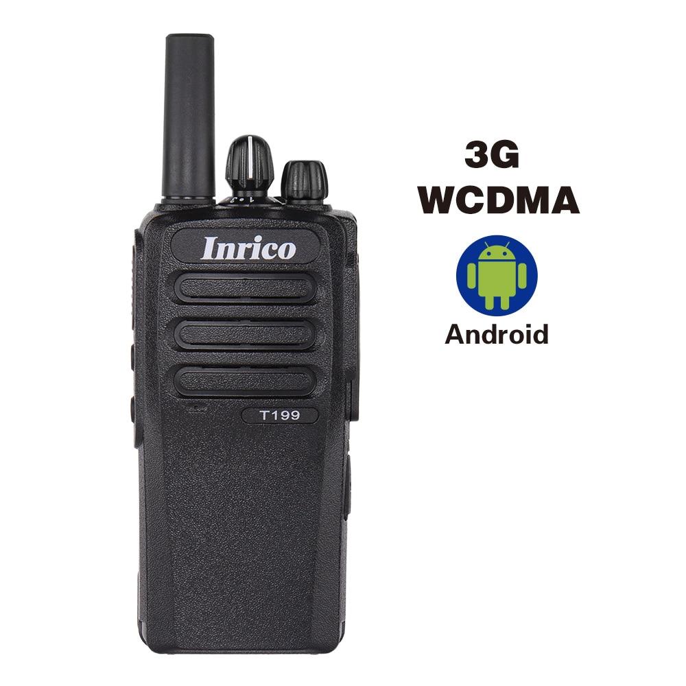 Inrico T199 free shipping Zello portable CB radio fm ham radio 3G long distance walkie talkie outdoor intercom