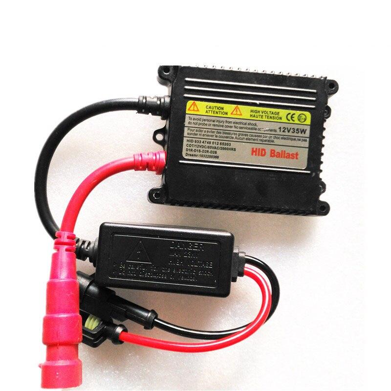 Kit de balastro de conversión Digital electrónico de repuesto de Xenón HID 35W DC para H1 H3 H4-1 H7 H11 H13