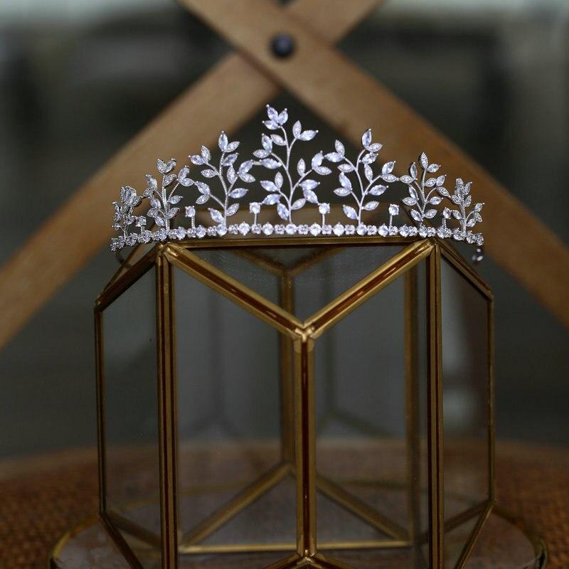 Corona Vintage hecha a mano de Reina y Tiara para mujer, accesorios...