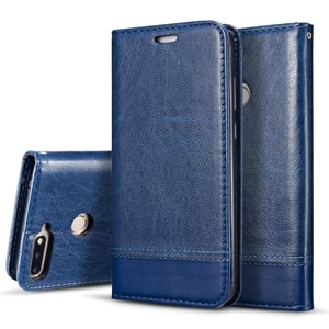 Classic Leather Phone Case For Huawei Y7 Prime / Y7Pro 2018 / Y7Prime 2018 Flip Wallet Card Slot Magnetic Cover Shell Fundas