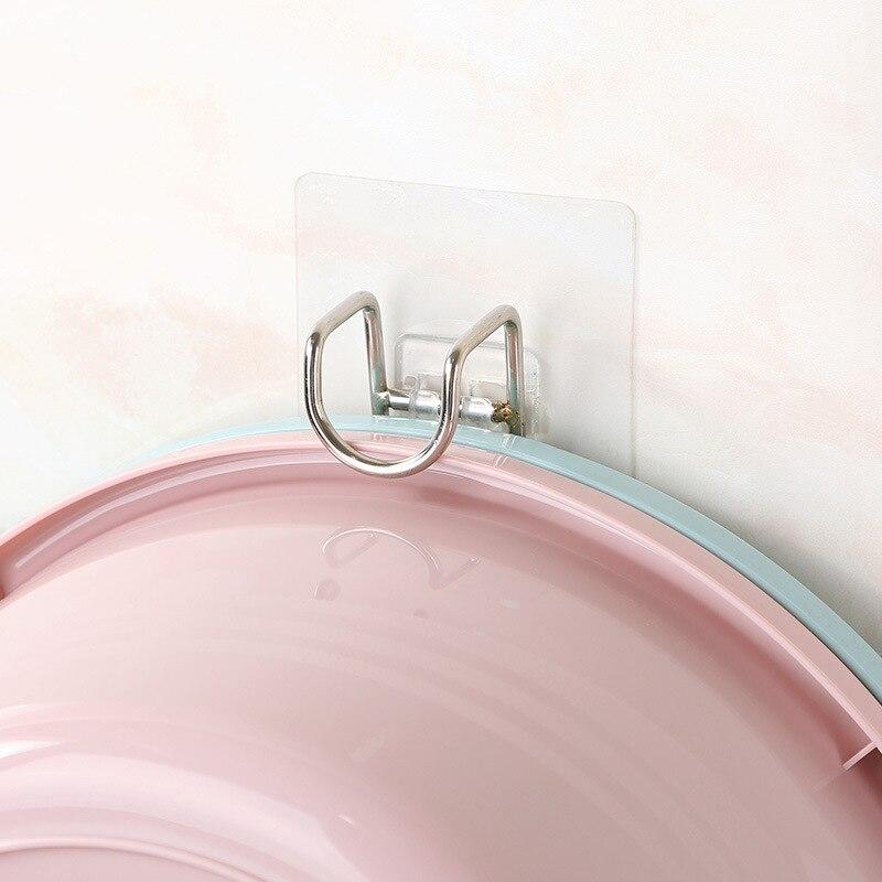 Многофункциональная стойка для кухни и ванной комнаты, стеллаж для хранения раковины, настенный держатель для раковины, крючок для ванной к...