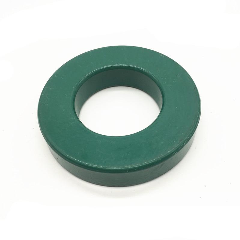1 pc de Manganês Zinco Cor Verde Anel De Ferrite Magnética 100*50*20mm Anti-Interferência de Alta-poder Núcleo Magnético Magnético Grande