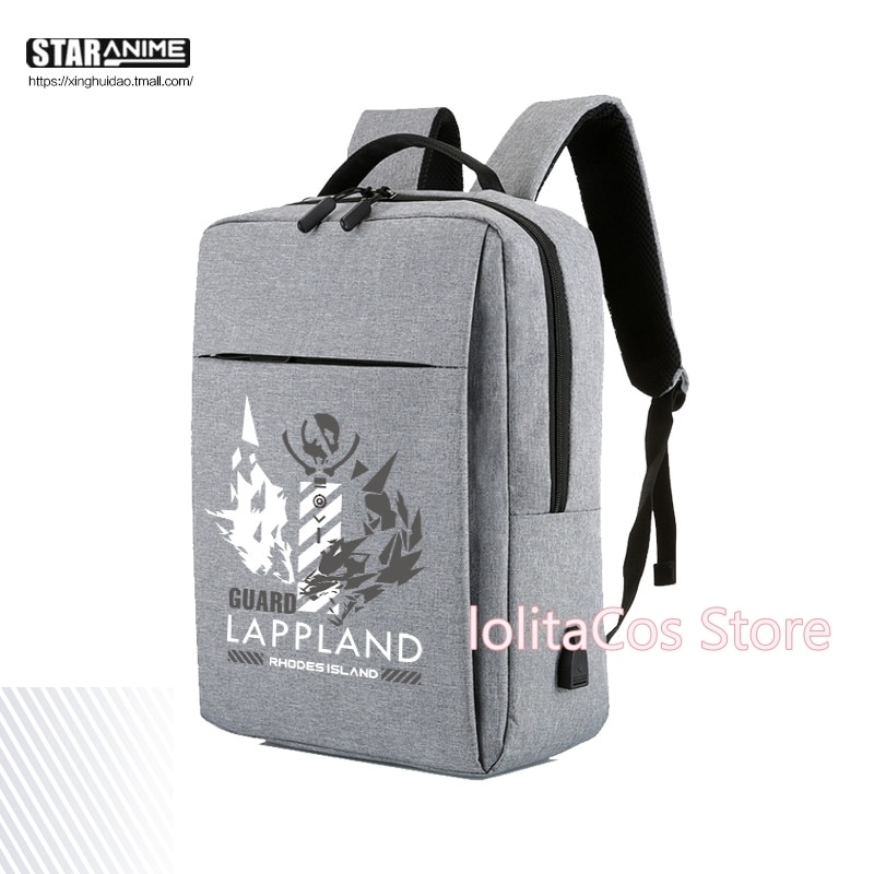 Game Arknights W Texas Lappland Chen Cosplay Oxford Fashion Student Waterproof School Bag Casual Travel Backpack Shoulder bags