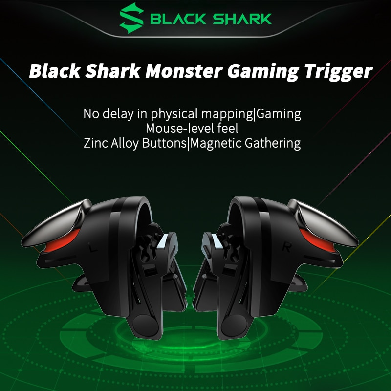 Black Shark Monster magnetic Gaming Triggers Gamepad-UP Smart phone Gamepad for Android  for Black S