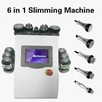 vacuum cavitation slimming machine for with 6 ems pads bipolar ultrasonic lipo laser cellulite removal eqiupment