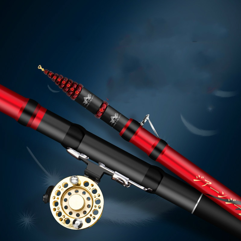 Three Position High Carbon Front-end Fishing Rod Short Section Pole Ultra-light Hand Sticks De Pesca Multipurpose Fishing Olta enlarge