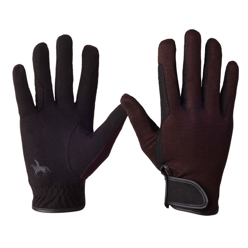 Equestrian Riding Gloves Horse Racing Game Wear-resistant Non-slip Equipment Bicycle Riding Full Finger Men and Women Universal