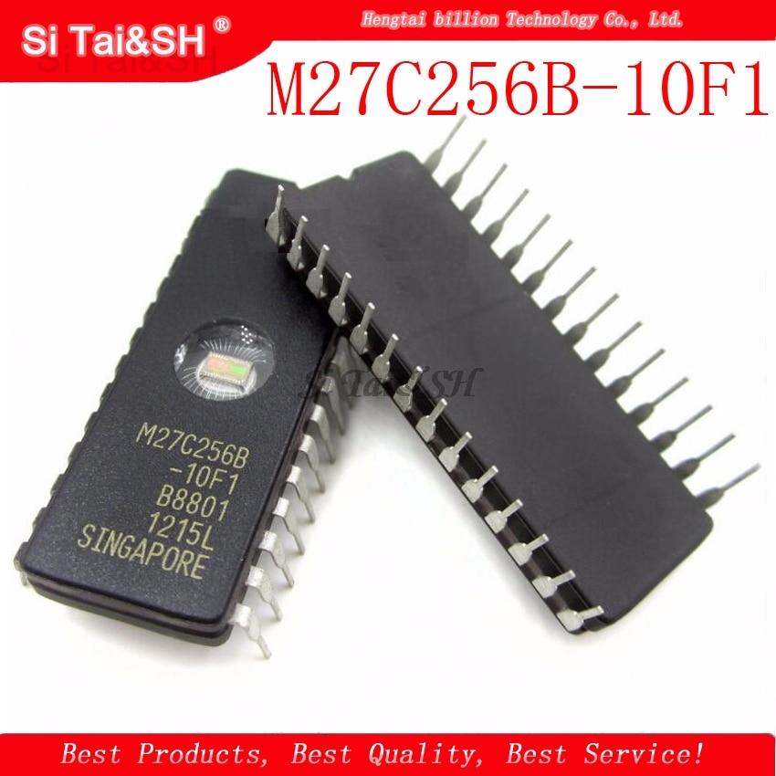 5 unids/lote M27C256B-10F1 27C256 CDIP-28
