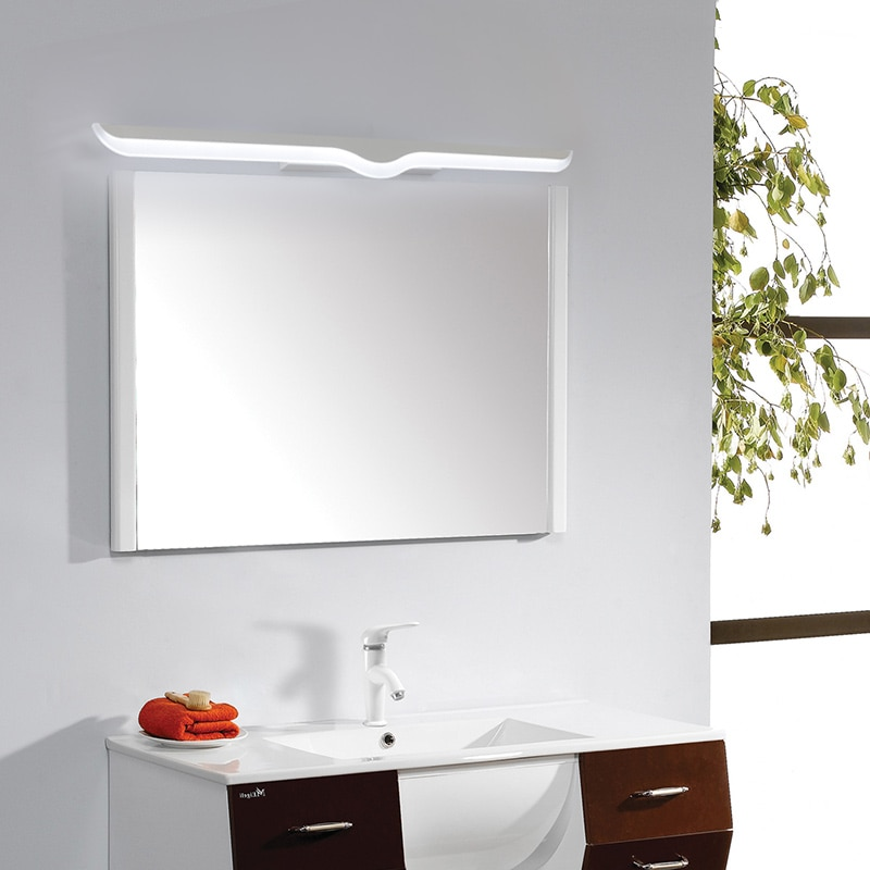 Modern LED vanity Mirror Lights 0.4M~1.2M wall lamp Bathroom bedroom headboard wall sconce lampe deco Anti-fog espelho banheiro enlarge