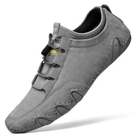 summer mens casual shoes leather mens boots fashionable style walking shoes comfortable sports shoes sizes 38 46
