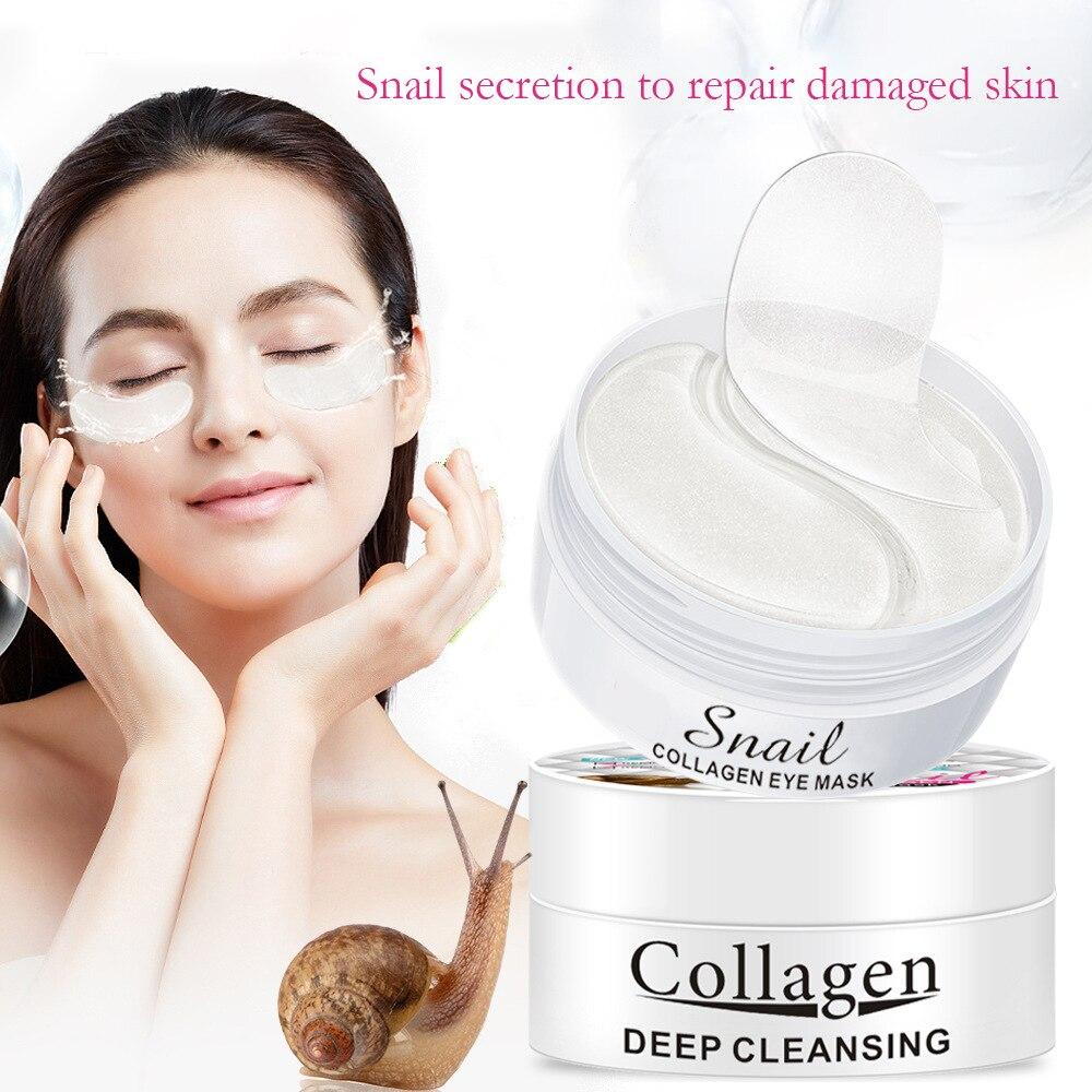 90ml  Hyaluronic acid eye mask moisturizes snail collagen eye mask moisturize skin Skin care beauty