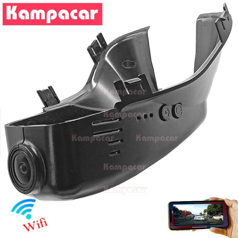 Kampacar VLV01-C Wifi جهاز تسجيل فيديو رقمي للسيارات داش كامير فيديو مسجل ل فولفو 102 مللي متر S60 S80 V70 V60 D6 XC70 XC60 D5 R تصميم 1080P HD DashCam