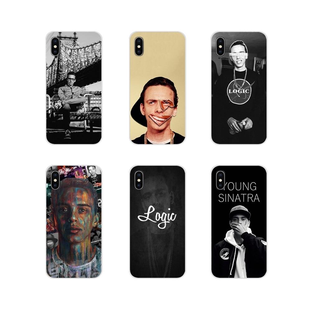 Logic Rapper For Samsung Galaxy S3 S4 S5 Mini S6 S7 Edge S8 S9 S10 Lite Plus Note 4 5 8 9 Accessories Phone Shell Covers