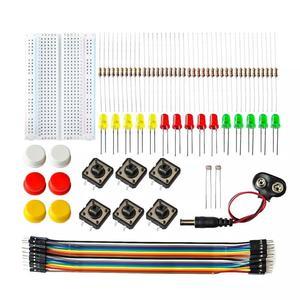 UNO R3 Starter Kit Mini Breadboard LED Jumper Wire Button For Arduino DIY Kit Electronics Component Basic Starter Kit