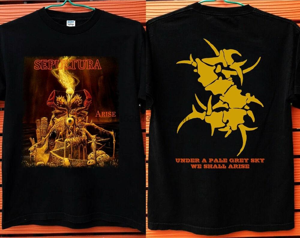 Nueva camiseta de Sepultura arise, camiseta