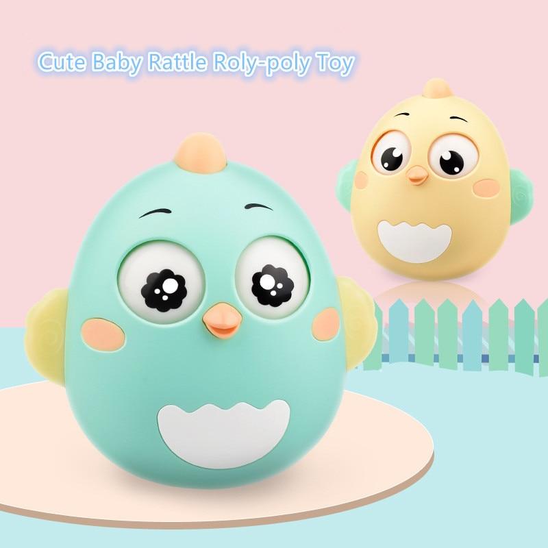 Hochet jouets bébé hochets berceau Mobiles jouet gobelet enfant anneau cloche mignon roly-poly silicone dentition bébé développement jouets 0 12 mois