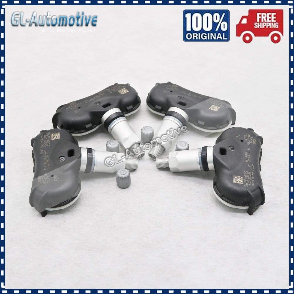 Набор (4) TPMS 42753-SNA-A830-M1 датчик давления в шинах для Acura Csx Honda Civic Cr-Z Element подходит для 42753 SNA A830 M1 315 МГц