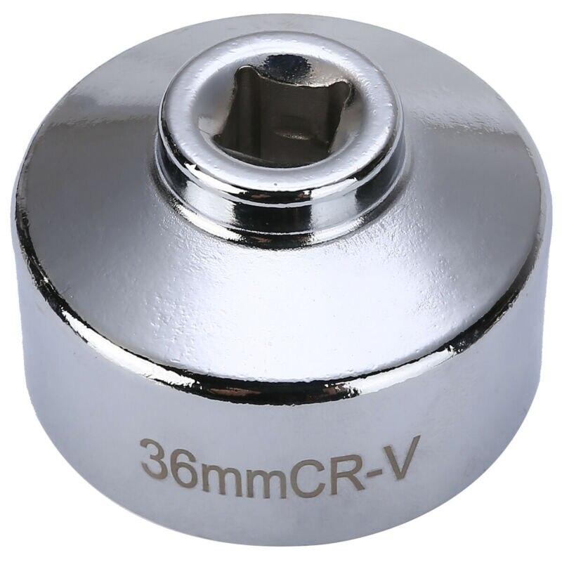Llave hexagonal de filtro de aceite para BMW Mercedes Vito CDi plateado práctico