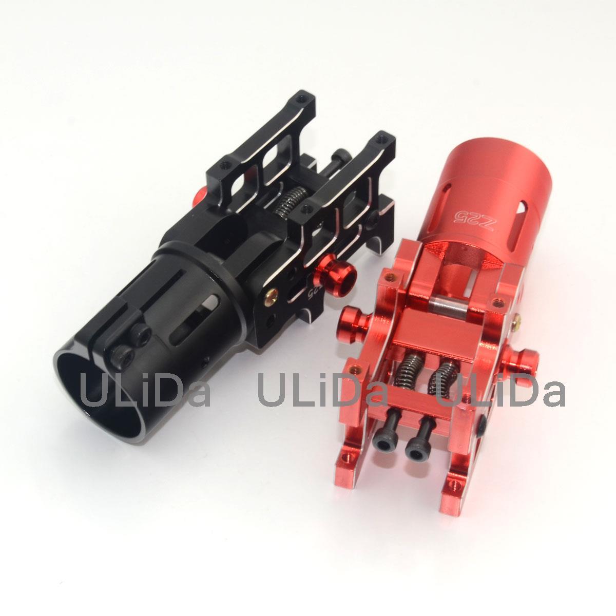 Nuevo V4 actualizado CNC aluminio plegable brazo tubo Z25 doble tornillo de bloqueo automático para diámetro 25mm Tubo RC Quadcopter Multirotor Drone