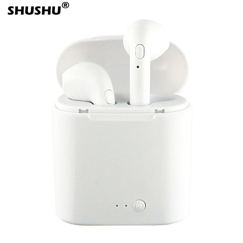 I7s Tws Bluetooth 5,0 наушники беспроводные наушники спортивные наушники-вкладыши для Huawei Iphone OPPO Xiaomi TWS Музыкальная гарнитура