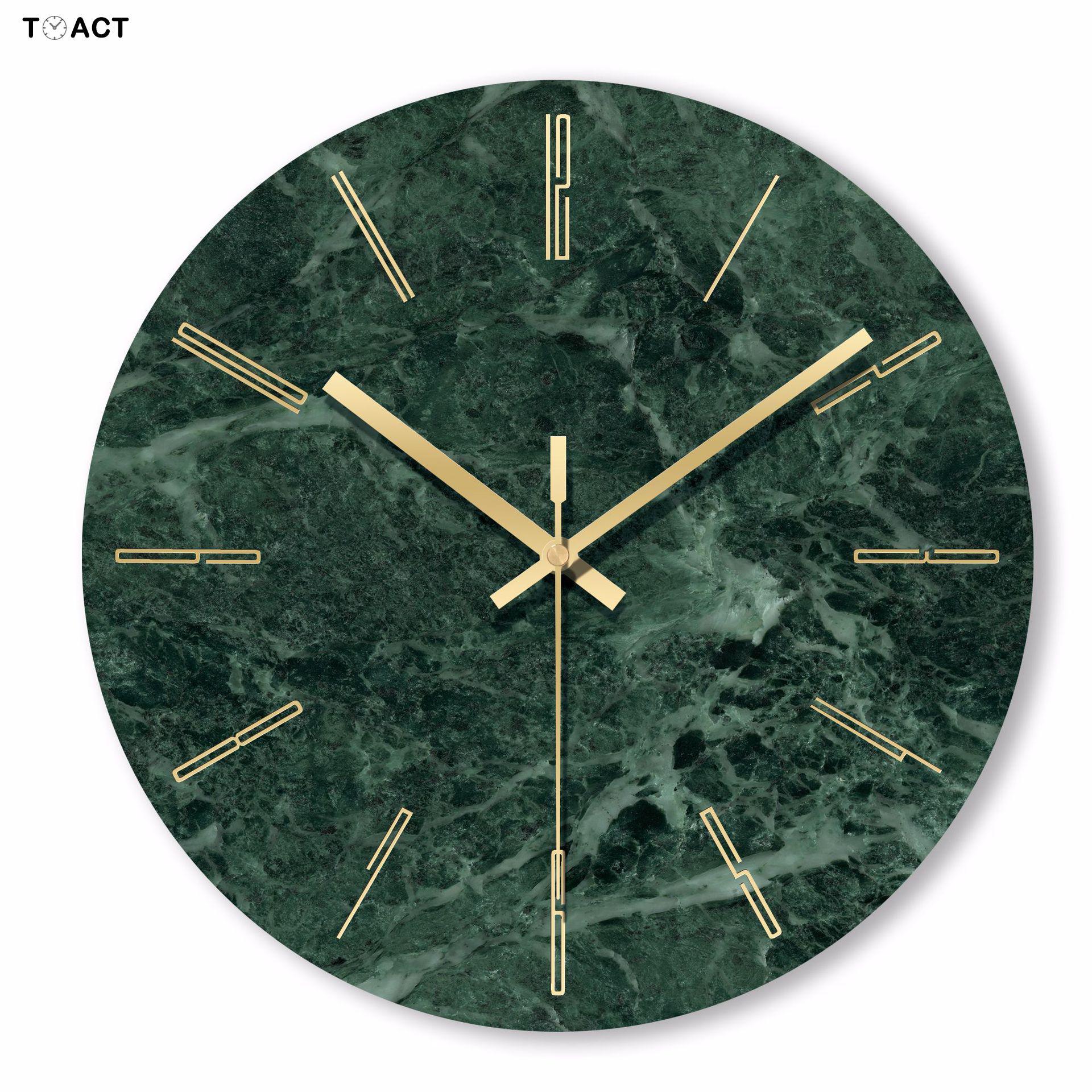 Reloj de pared moderno y nórdico para sala de estar, cronógrafo redondo...