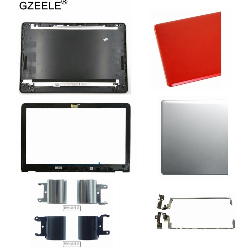 LCD Back Cover/LCD front bezel/Hinges/Hinges cove for HP 15-BS 15T-BS 15-BW 15Z-BW 250 G6 255 G6 Black LCD Back Cover 924899-001 new for hp 15 bs 15 br 15 bw 15t br 15 bs 15z bw laptop lcd back cover front bezel hinges palmrest bottom case 924899 001