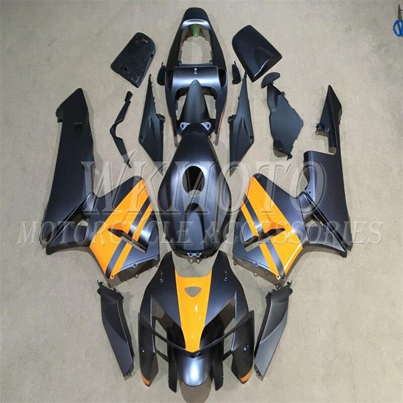 لهوندا CBR600RR 2003 2004 2005 2006 مصد الانف الجانبي لوحة الذيل الخلفي هدية طقم هيكل السيارة F5 03 04 HO27