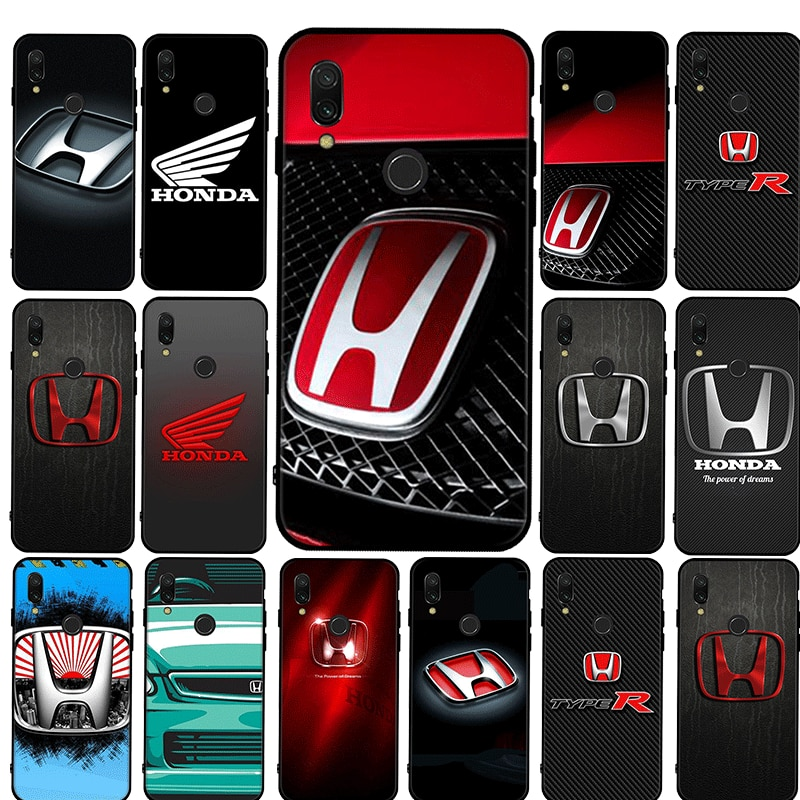 Honda Couple Silicon TPU Cover For Xiaomi Redmi K30 Pro Poco X2 Note 4X 5 6 7 8 Pro 5A Prime 8T Case