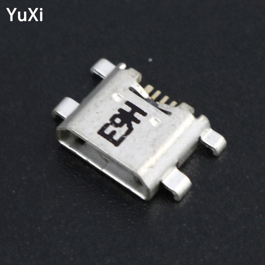 YuXi 10PCS Micro USB conector jack de carga de enchufe de acoplamiento de toma de puerto para Huawei P7 P8 P10 Lite Honor 8 6Plus 5C 6A 6X Nova lite