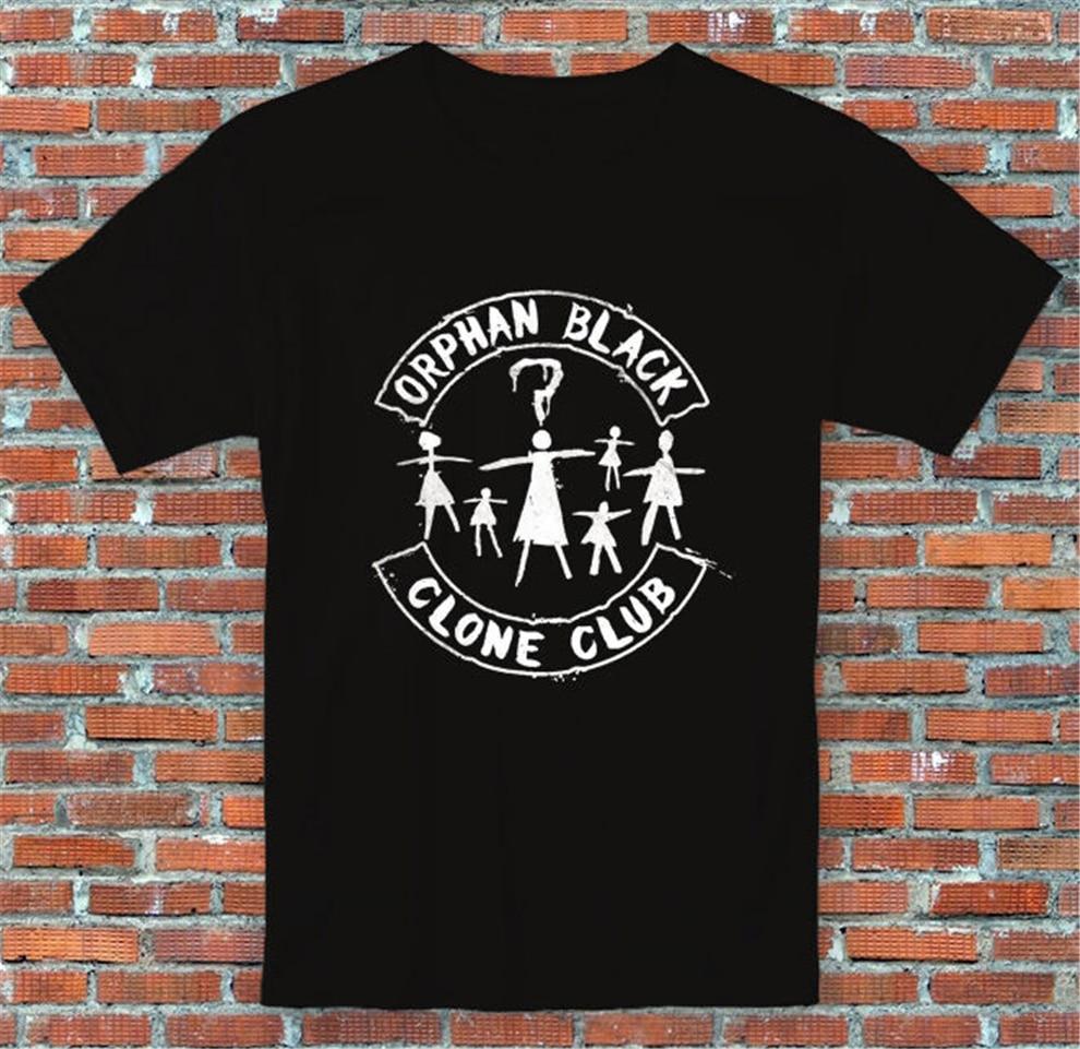 Orphan negro Clone Club inspirado camiseta S - 2Xl suelta camiseta de talla grande