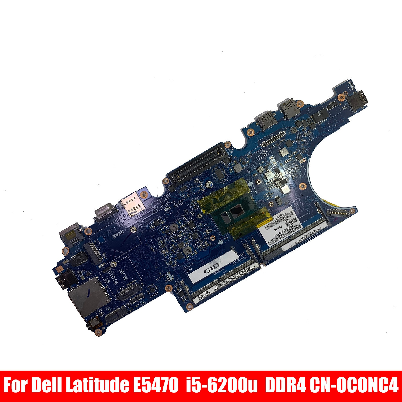 CN-0C0NC4 0C0NC4 LA-C631P لديل خط العرض E5470/5470 Aptop اللوحة الأم مع I5-6200u وحدة المعالجة المركزية DDR4 100% اختبارها بالكامل بافيليون شيلي