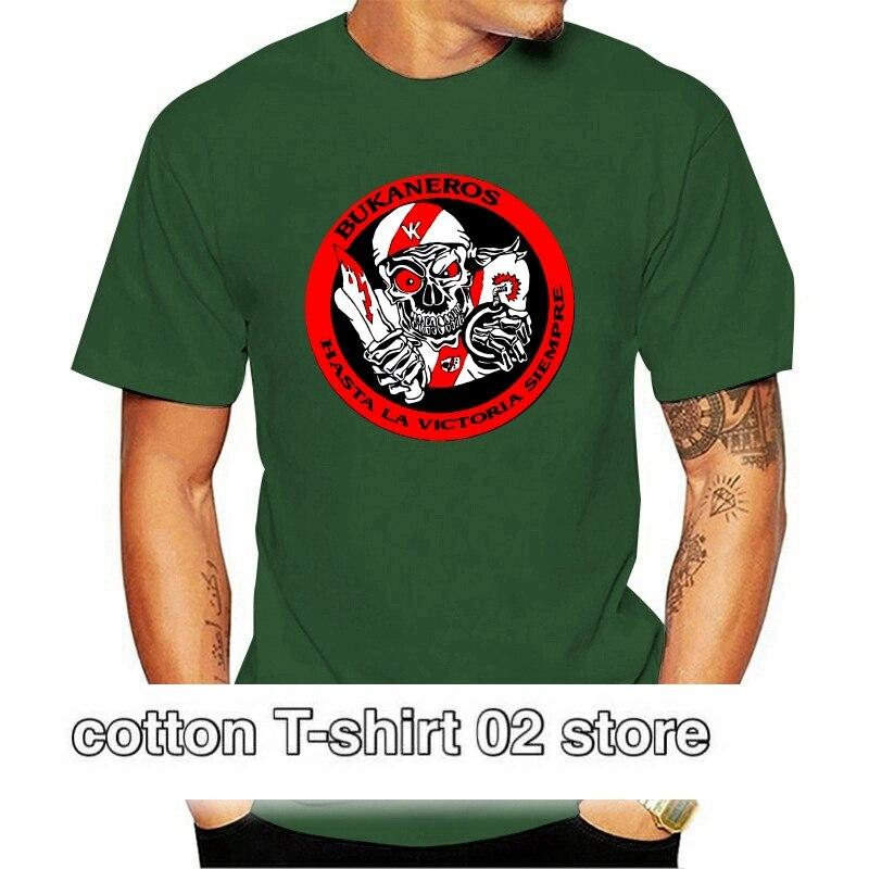Camiseta de algodón con estampado de Rayo Vallecano para hombre... Bukaneros 010371