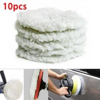 reusable polishing pad replacement soft washable accessories bonnet buffer car polisher