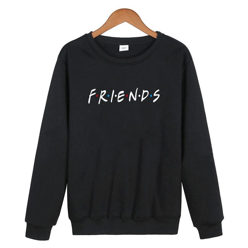 ¡Novedad de otoño-invierno 2019! Sudadera con capucha de Friend Tv Show para mujer, sudaderas con capucha Harajuku para mujer, sudaderas para mujer