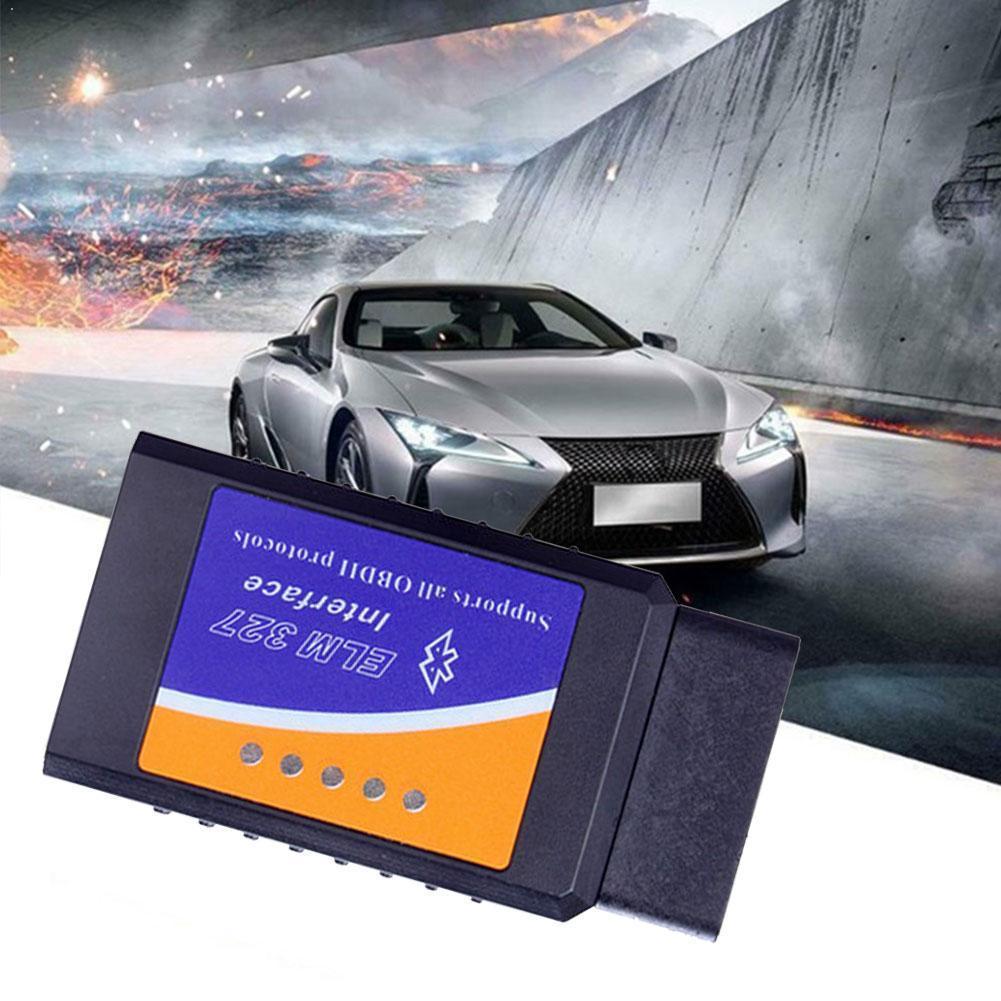 Автомобильный инструмент для диагностики неисправностей Мини OBD2 Bluetooth код 2,0 сканер инструмент диагностический считыватель автомобиля T5P9