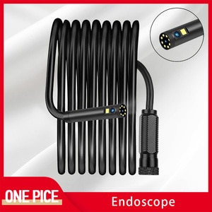 P30 D2 Industrial Endoscope Camera 8mm/5.5mmSemi-rigid Snake Tube Cable Dual Lens only Camera Cable Without Screen Monitor