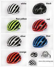 2020 New Air AERO Cycling Helmet Racing Road Bike dynamics Wind Helmet Men Sports Aero Bicycle Helmet SIZE M 54-60cm 260g