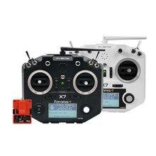 Controlador de Radio transmisor de acceso Frsky Taranis Q X7 con módulo R9M 2019 de largo alcance 915Mhz FPV RC Accesorios