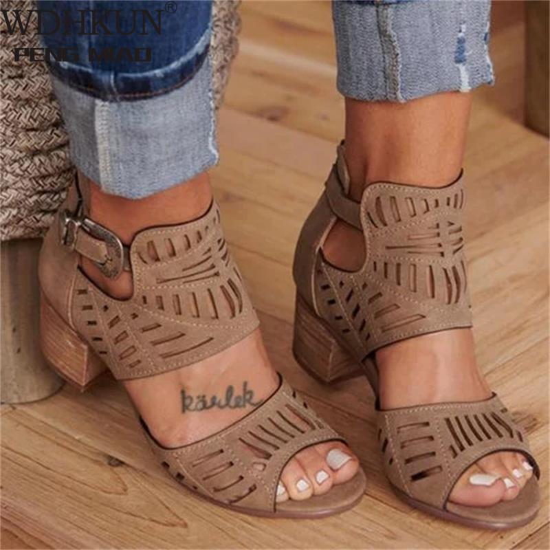 Women shoe women's sandals 2021 outdoor sandals women Heeled Shoes Casual Summer women's sandals