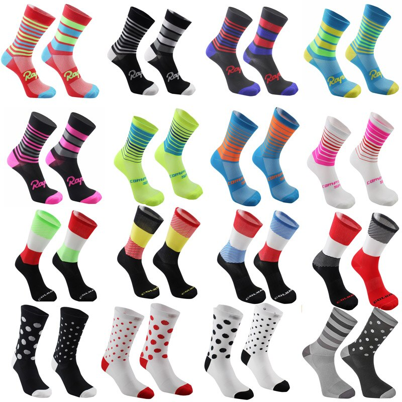 2020 new High quality Pro team men women cycling socks MTB bike socks Breathable Road Bicycle Socks Outdoor Sports Racing Socks