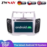 android 10 px6 ips screen for toyota yaris 2005 2006 2011 radio stereo gps navi auto pc radio gps navi video multimedia 2din