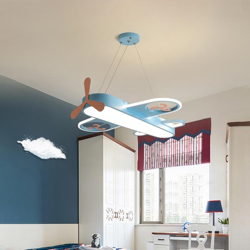 مصباح سقف led بتصميم طائرة إبداعي ، تصميم جديد ، إضاءة داخلية ، إضاءة سقف زخرفية ، مثالية لغرفة الطفل أو غرفة الطفل.