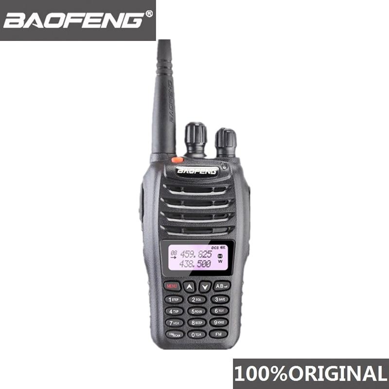 100% оригинальная двухсторонняя радиостанция Baofeng, VHF, UHF, 5 Вт, 99CH, Любительское радио, FM-передатчик, портативная рация, приемопередатчик B5