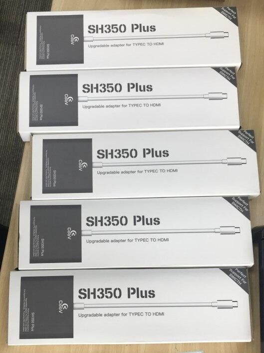 5 шт. HDMI адаптер конвертер концентратор для переключателя/для Samsung/MacBook Pro для Coov SH350 Plus мини док-станция USB-C Type-C