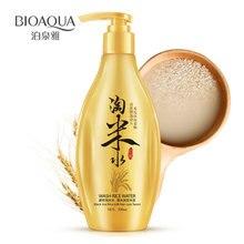 BIOAQUA chine Tradition lavage eau de riz shampooing noir riz lait soins des cheveux huile-contrôle démangeaisons traitement de conditionnement 300ml