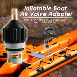 Novo caiaque quente barco inflável bomba adaptador de válvula de ar conector de bombeamento usj99