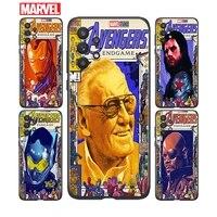 marvel avengers retro poster for samsung a91 a72 a71 a52 a51 a42 a41 a32 a31 a22 a21s a12 a11 a03 a02s a01 4g 5g phone case