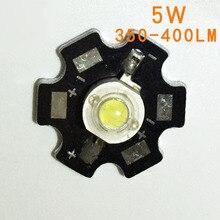 2 шт. 5 Вт холодный белый Светодиодный теплоотвод алюминиевая Базовая плита печатная плата подложка 20 мм LM части/фонарик/Лампа прожектор самодельные светильники