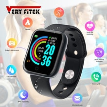 D20 Pro Smart Watch Y68 Bluetooth Fitness Tracker Sports Watch Heart Rate Monitor Blood Pressure Sma
